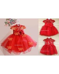 Chinese Style Tutu Dress