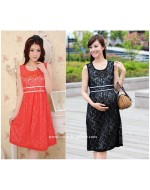 Elegant & Comfortable Quality Lace Maternity Dress