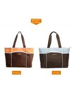 Aardman Casual Multi-Function Microfiber Diaper Bag (HY-1793) *Buy1Free1*