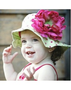 Beautiful Big Flower Hat (7 colours)
