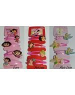 Dora the Explorer/ Princess/ Pixie Dust Princess Hair Ornaments Clips (4pcs/Set)