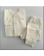 Pure Baby Pyjamas Set - J002 (white)