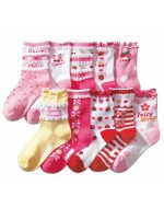 Lovely Girl's Socks ~10 sweet Designs