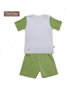 Organic T-shirt Set - P005 (Pink/ Blue/ Green)
