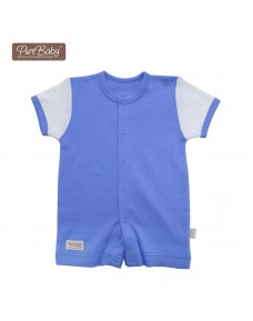 Organic Baby Romper - P012 (Blue/ Green/ Pink/ White)