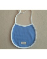 Organic Cotton - Bibs (String) - Blue/ Pink/ White