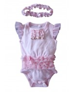 Sweet Rompers with headband Set