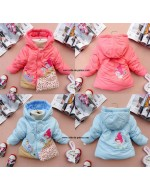 Baby/ Children Wadded Jacket (Pink / Blue)