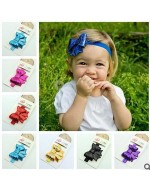 Sequins Bow/ Ribbon Style Headbands (10 colours)