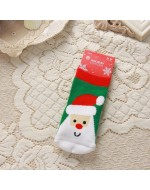Lovely X'mas Santa Socks (1~ 3yrs)