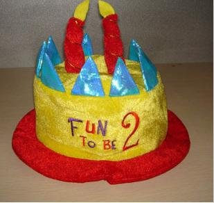 Fun Birthday Hat For 1 Year 2 Years Old Baby NEW ARRIVAL